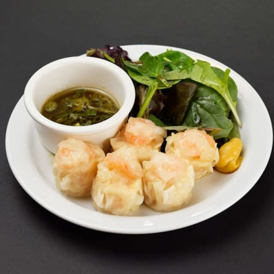 Food image of RAKKAN RAMEN, shrimp shumai