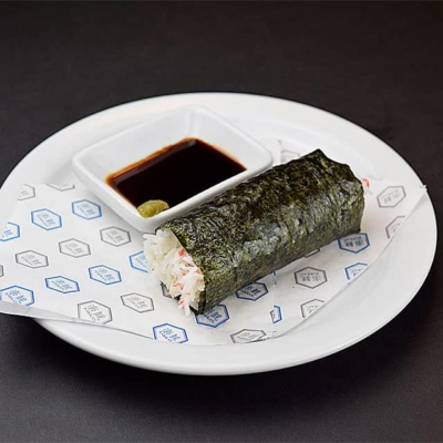 Food image of RAKKAN RAMEN, hand roll, California, 1 pc.