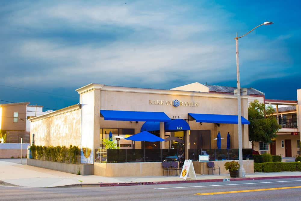 Exterior Photo of RAKKAN Ramen Redondo Beach