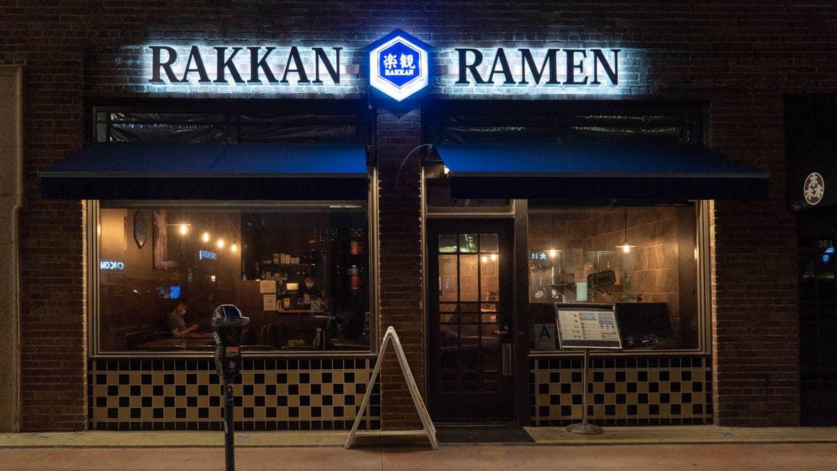 Exterior Photo of RAKKAN Ramen Downtown Los Angeles